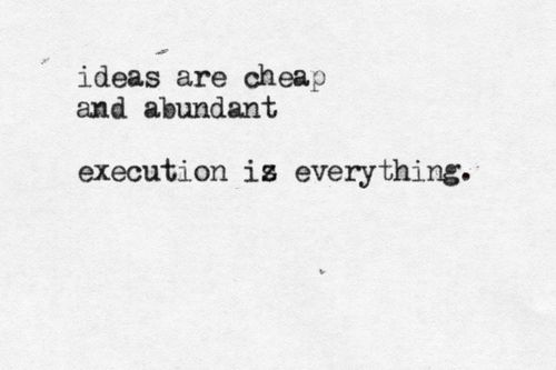 How precious are your ideas?